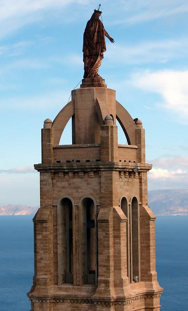 Santa Cruz church overlooking Oran in Algeria