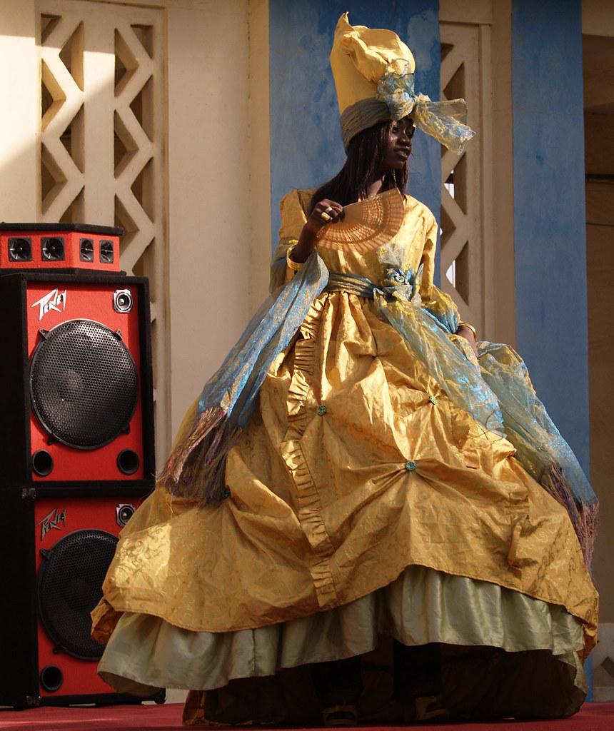Traditional Wedding Dress, Senegal
