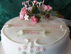 80th birthday cake   by abbietabbie