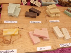 Wollongong Produce Market : Home Made Soaps | by Vanessa Pike-Russell