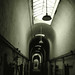 eastern penitentiary hallway by 51e