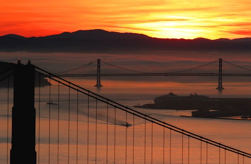 sf sanfrancisco california ca morning bridge usa sunrise bay bravo bridges goldengatebridge goldengate baybridge silhoutte sfbay abigfave anawesomeshot impressedbeauty aplusphoto
