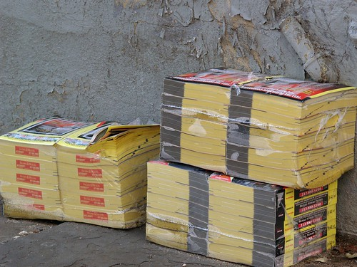 phone books | by bondidwhat