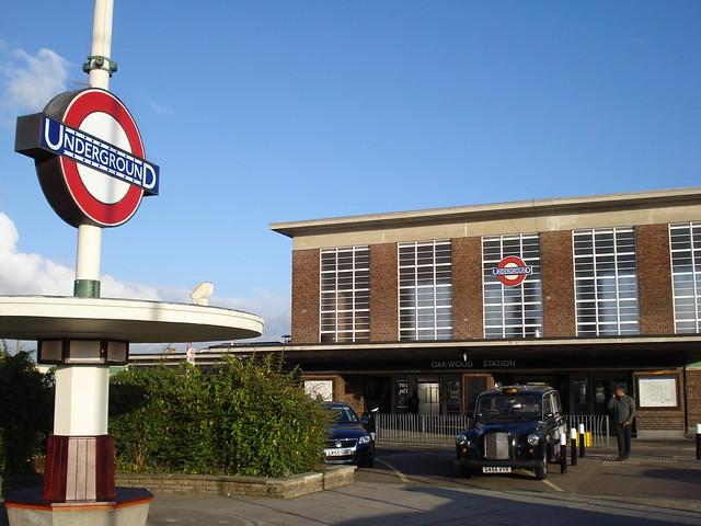 Oakwood Tube station