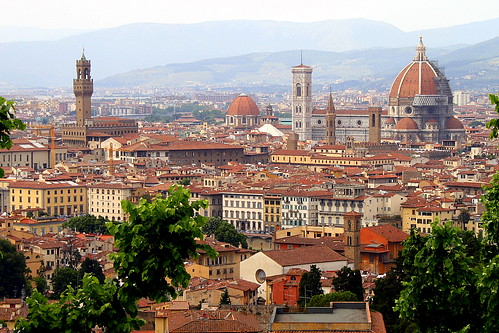 Florence skyline | by echiner1