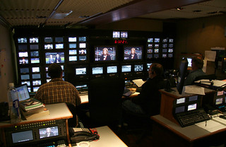 TV Production truck at Safeco Field | by kevin76