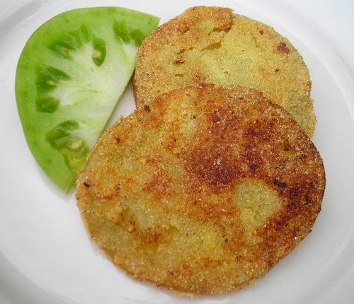 fried green tomatoes | by rachel is coconut&lime