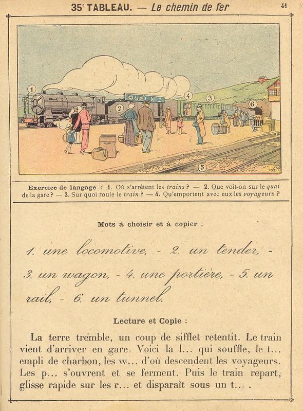 vocab35 chemin de fer
