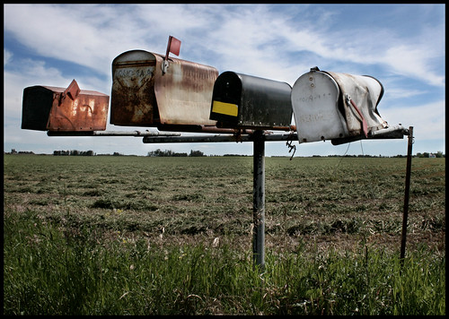 antique mailboxes | by daintee