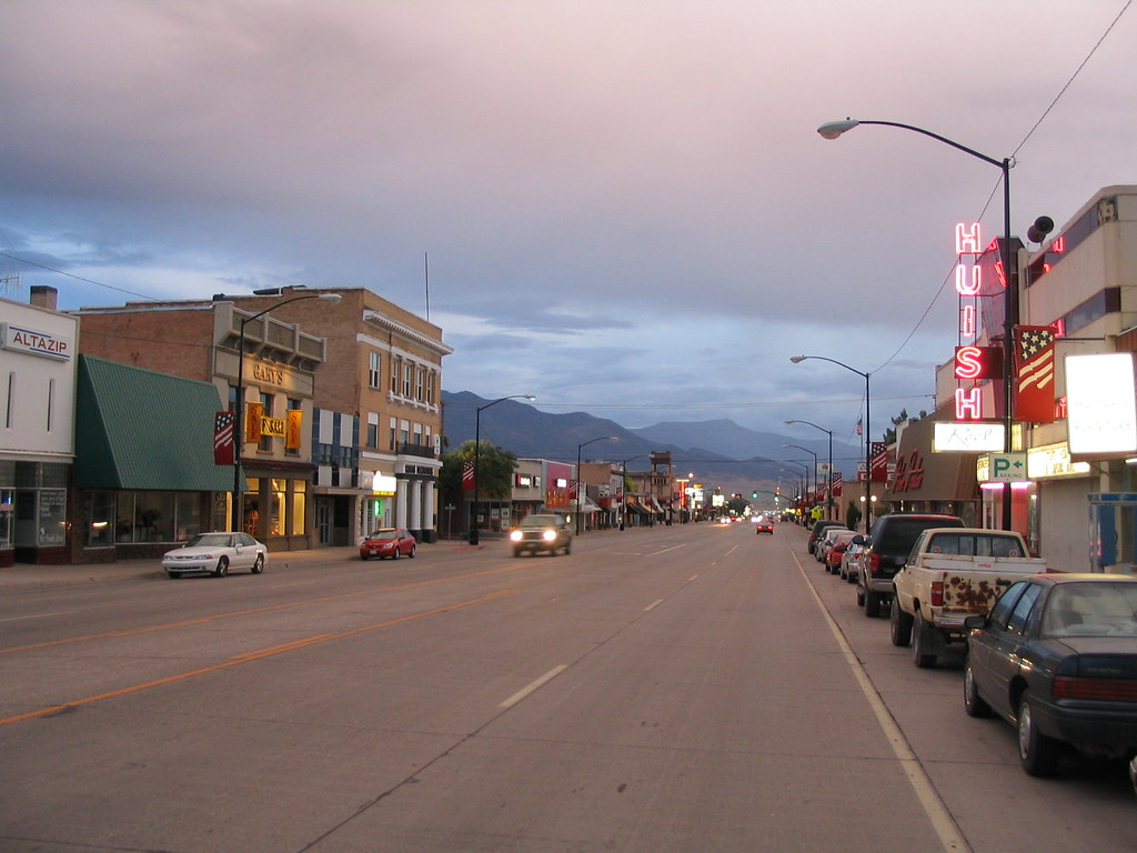 How Many Miles From >> Downtown Richfield, Utah | Richfield is a city in and the co… | Flickr
