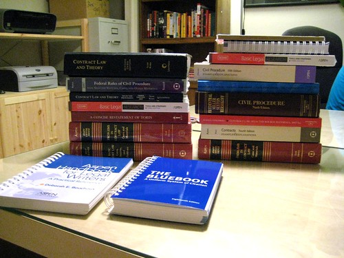 Law School Textbooks | by Jesse Michael Nix