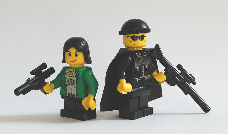 Minifig Films # 2: Leon (Or The Professional)