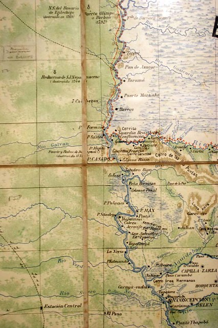 Paraguay river map | Old Paraguay river map. | michele molinari | Flickr