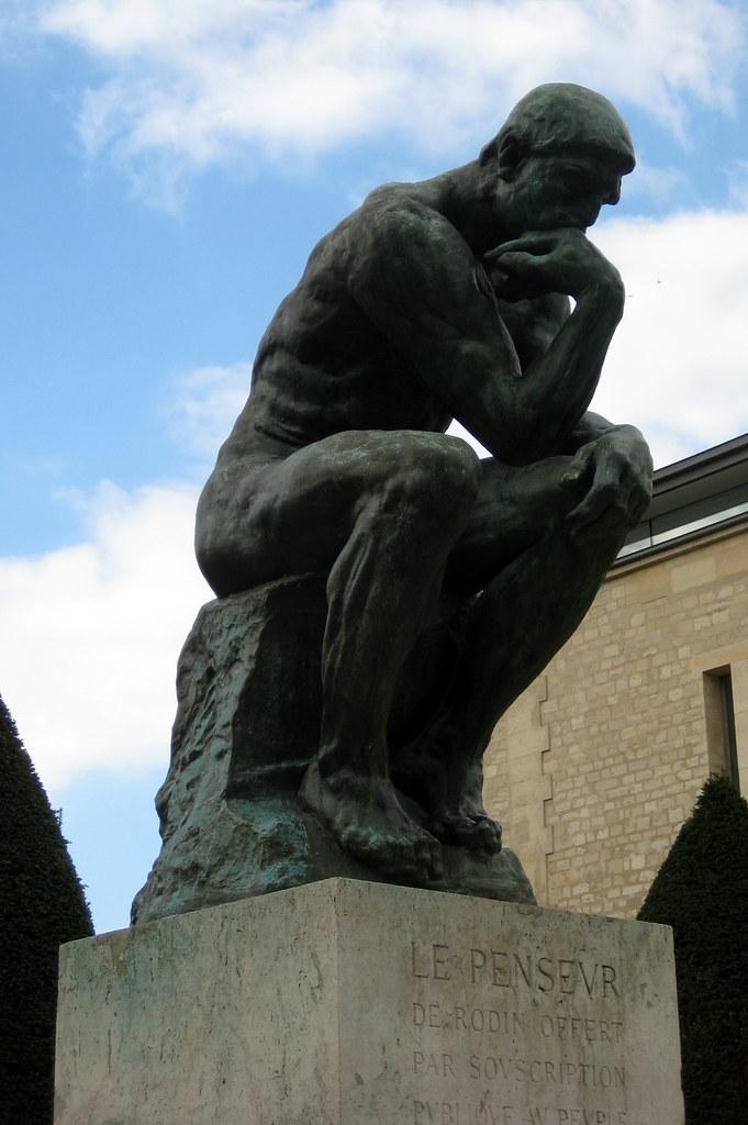 Paris Mus 233 E Rodin The Thinker Le Penseur The Thinker