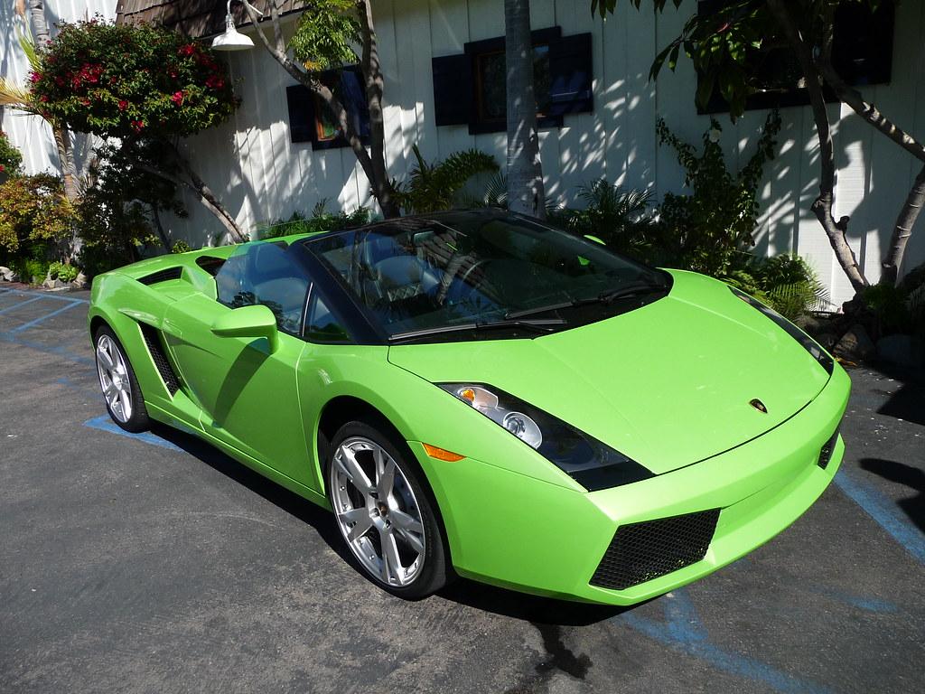 Lamborghini Gallardo Spyder Lime Green Best Color At Flickr