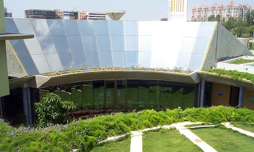 USAID supports India's clean energy efforts and the Green Business Center, the first of its kind outside the U.S. to win a LEED platinum award. | by USAID_IMAGES