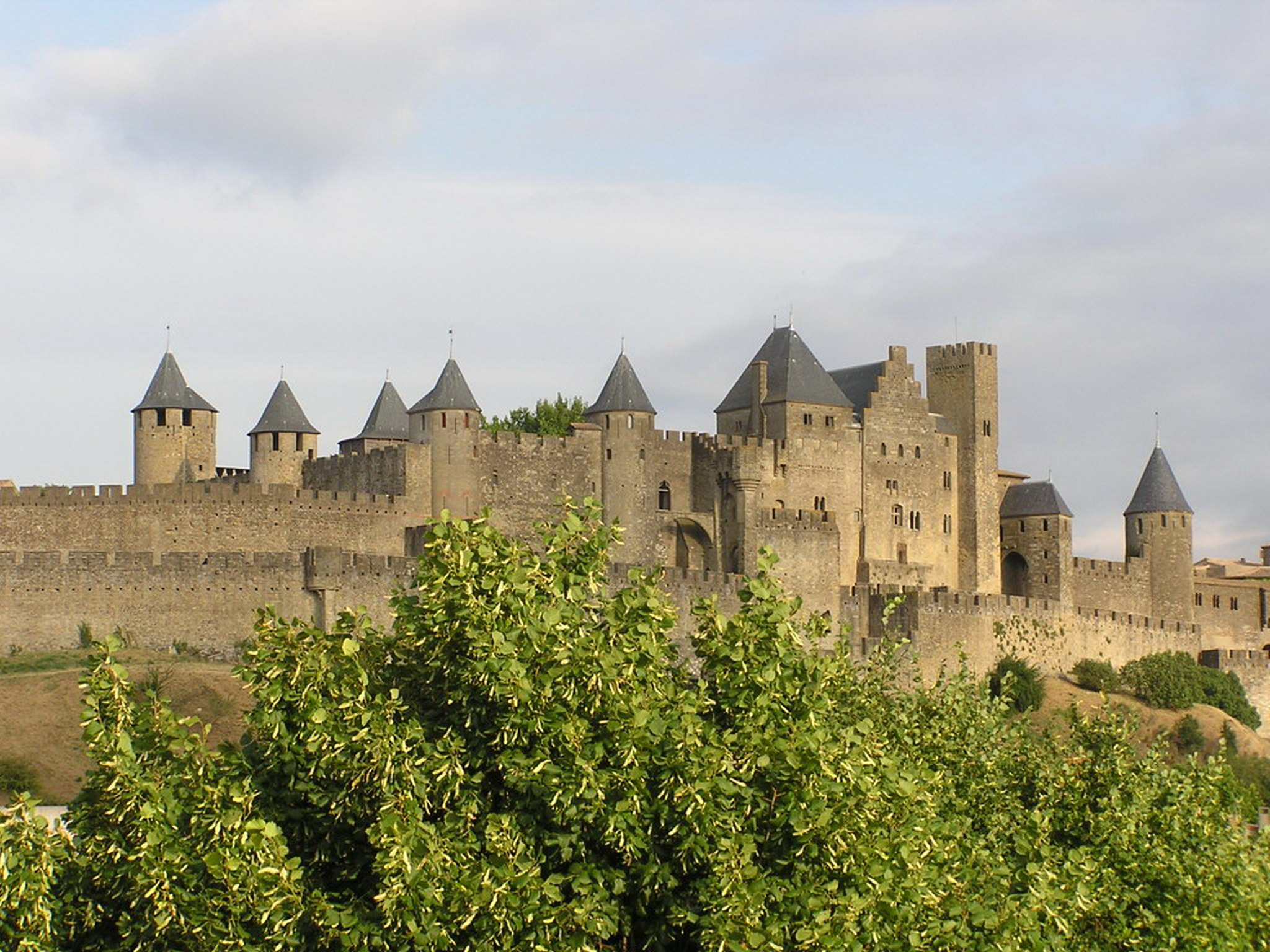 Castillo de Carcassonne o Carcasona Francia