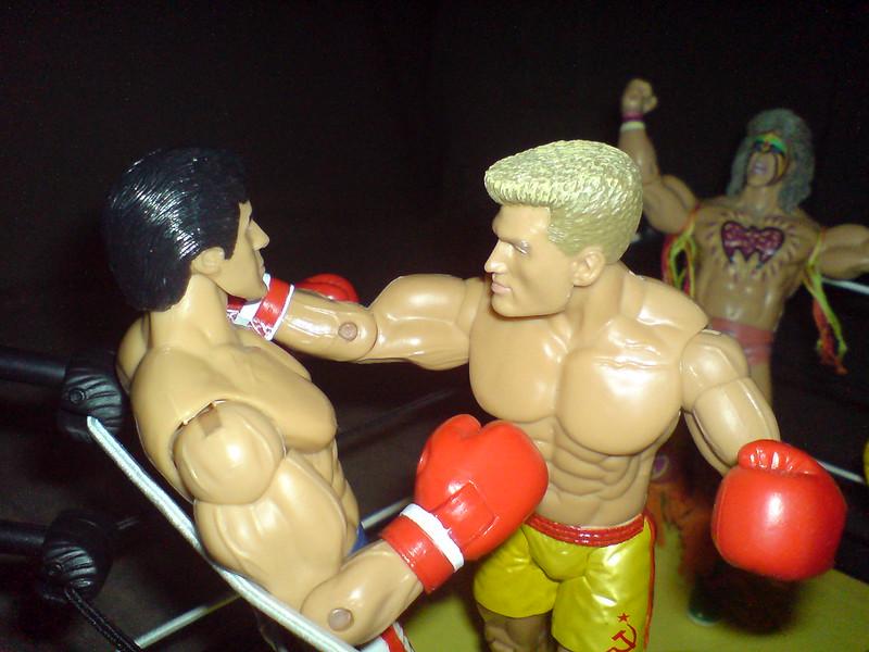 Drago fucks Rocky