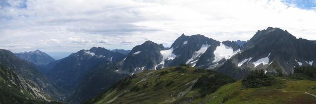 Yawning Glacier Panoramic
