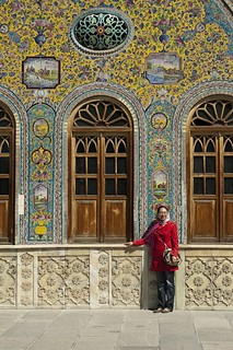 Tourist in Tehran