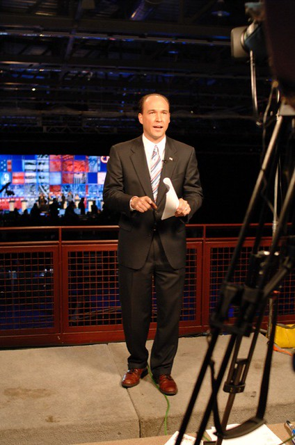 WMUR-TV Political Reporter Scott Spradling | Photo by Gil Ta