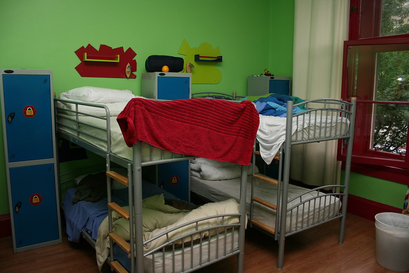 Budget Backpackers room