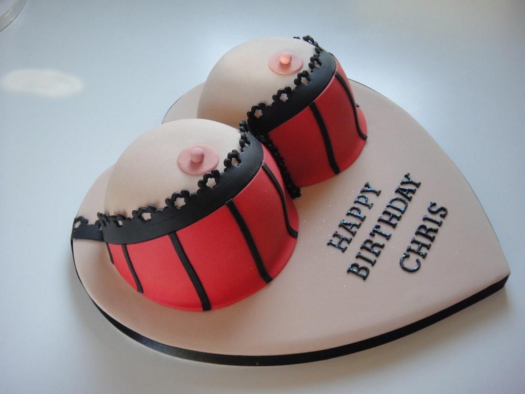 Groovy 1St Boob Cake Inspiration From Flickr Com Photos Creat Flickr Funny Birthday Cards Online Elaedamsfinfo