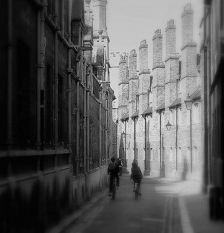Trinity Lane in Monochrome