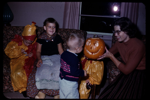 halloween 1960 with hr pumpkins | by AndrewEick