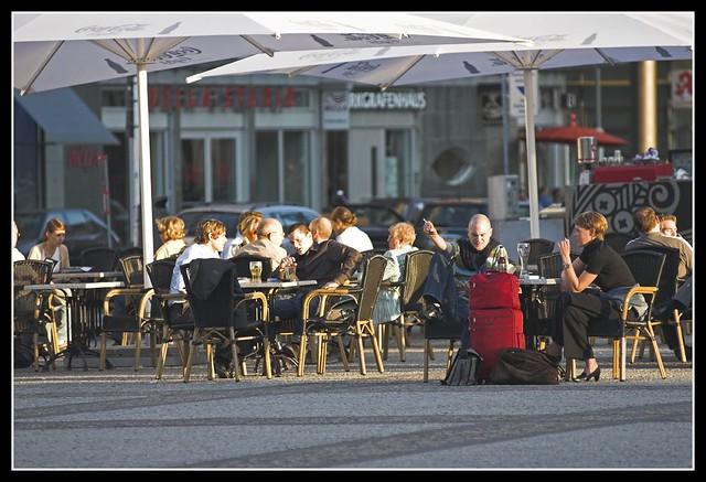 Gendarmenmarkt - Cafe