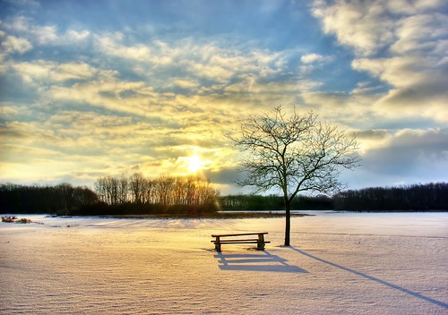 winter sky snow clouds sunrise table illinois picnic busse pb forestpreserve fp e6 hdr 3xp splendiferous betterthantv impressedbeauty aplusphoto imgp3155hpf norjam8 lpcold norjamss