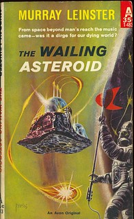 Murray Leinster - The Wailing Asteroid (Avon T-483) | by vintagepaperbacks