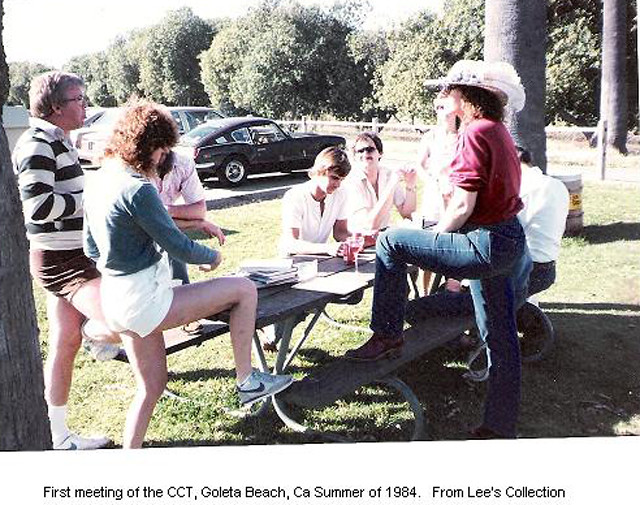 First meeting of CCT, 1984