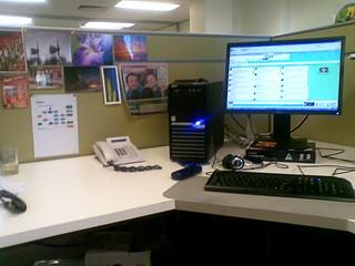 My work desk   by Jaycee1