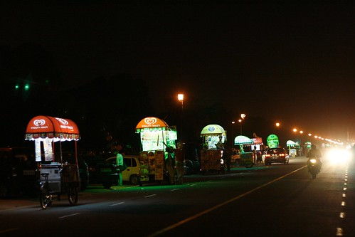 the ice cream trucks by India Gate | by olive witch