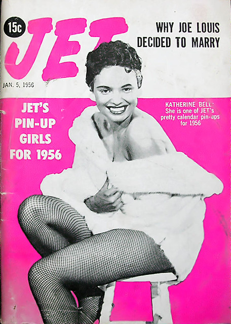 Katherine Bell, One of The Pin-up Girls for 1956 - Jet Magazine, January 5, 1956