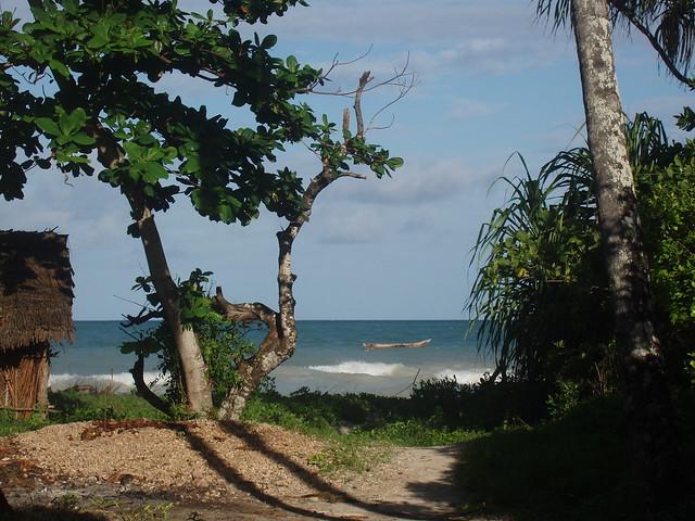 Weg zum Beach