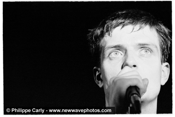 Ian Curtis, by Philippe Carly