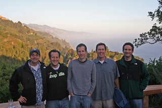 The crew at Nepenthe in Big Sur   by mil8