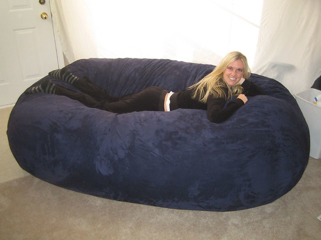 Surprising Huge Bean Bag Chair Lovesac Love Sac Comfy Sack Fombag Flickr Onthecornerstone Fun Painted Chair Ideas Images Onthecornerstoneorg