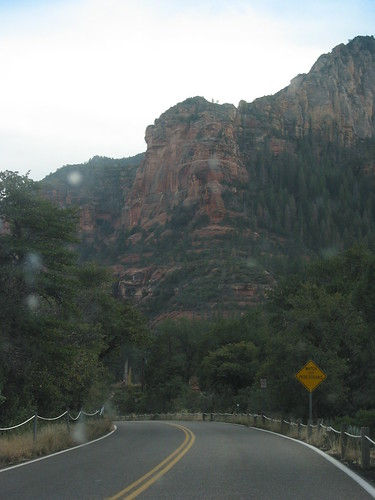 As you leave the canyon, and approach Sedona, the rocks become redder.