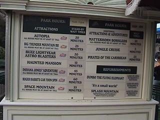 Information Station, Plaza, Main Street, Disneyland®, 2007.01.27 17:05