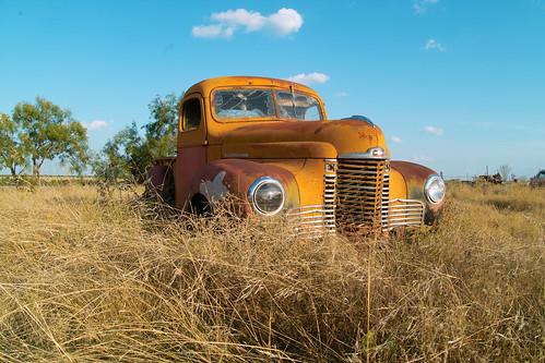 abandoned truck texas eldorado international kb2