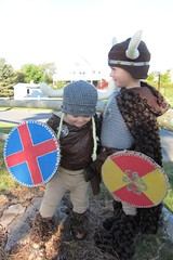 Wee Viking Warrior Costumes I Made