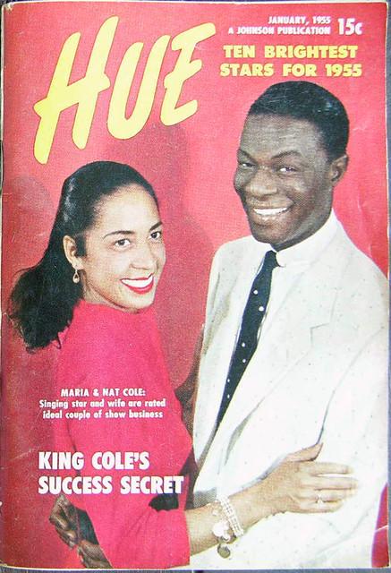The Success Secret of Nat King Cole - Hue Magazine, January, 1955