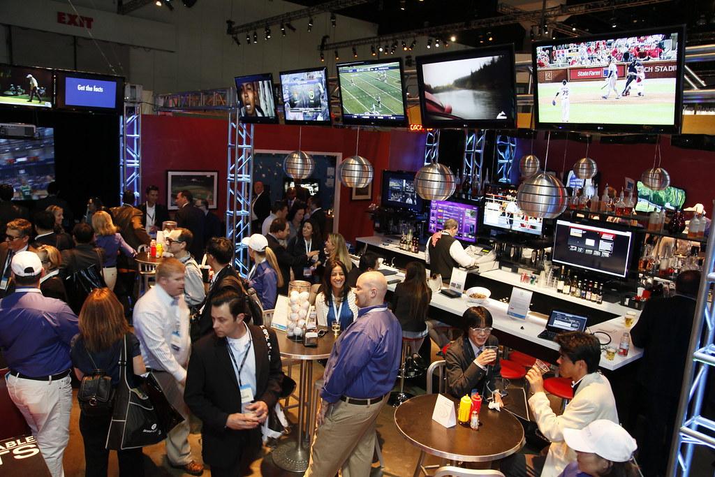 Sports bar in Vietnam