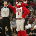 Benny the Bull and his referee friend