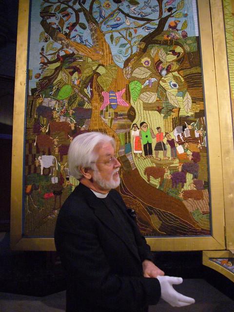 Dean Alan Jones and the Tree of Life, the Keiskamma Altarpiece