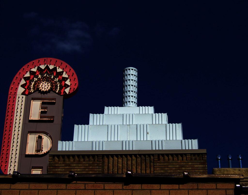Roof of the Edina Theater | Doug Hanson | Flickr