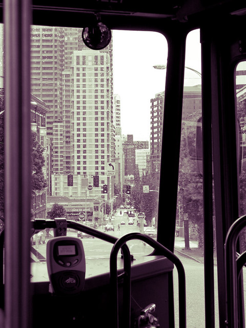 Heading Downtown